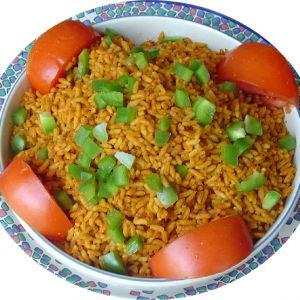 Jollof Rice (VEGAN)